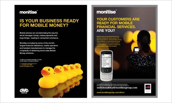 monitise advertising