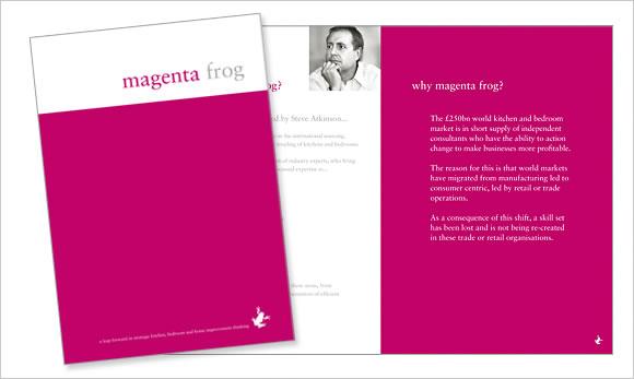 meganta frog literature