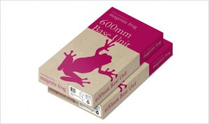 megenta frog packaging